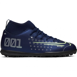 Buty piłkarskie Nike Mercurial Superfly 7 Club Mds Tf Jr BQ5416-401 granatowy granatowe