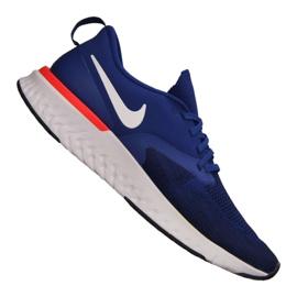 Niebieskie Buty Nike Odyssey React 2 Flyknit M AH1015-400
