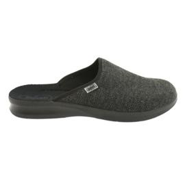 Befado obuwie męskie pu 548M022 szare