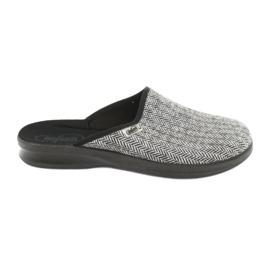Befado obuwie męskie pu 548M023 szare