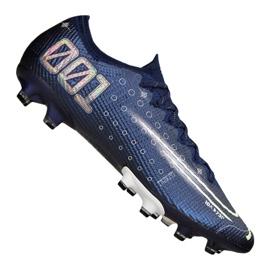 Buty piłkarskie Nike Vapor 13 Elite Mds AG-Pro M CJ1294-401 granatowy granatowe