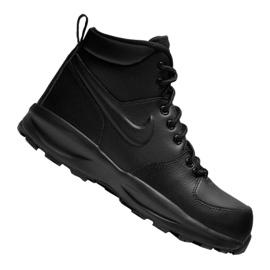 Buty Nike Manoa Ltr Gs Jr BQ5372-001 czarne