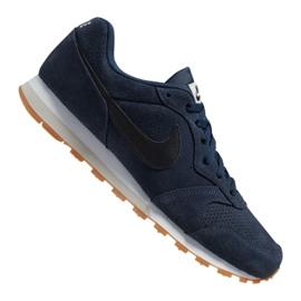 Buty Nike Md Runner 2 Suede M AQ9211-401 granatowe