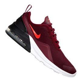 Czerwone Buty Nike Air Max Motion 2 Gs Jr AQ2741-601