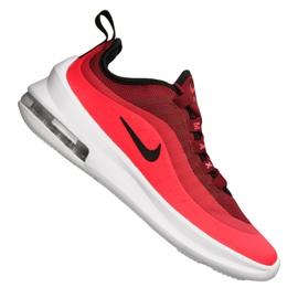 Czerwone Buty Nike Jr Air Max Axis (GS) Jr AH5222-602