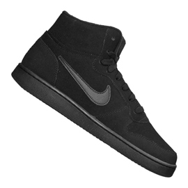 Buty Nike Ebernon Mid Se M AQ8125-003 czarne
