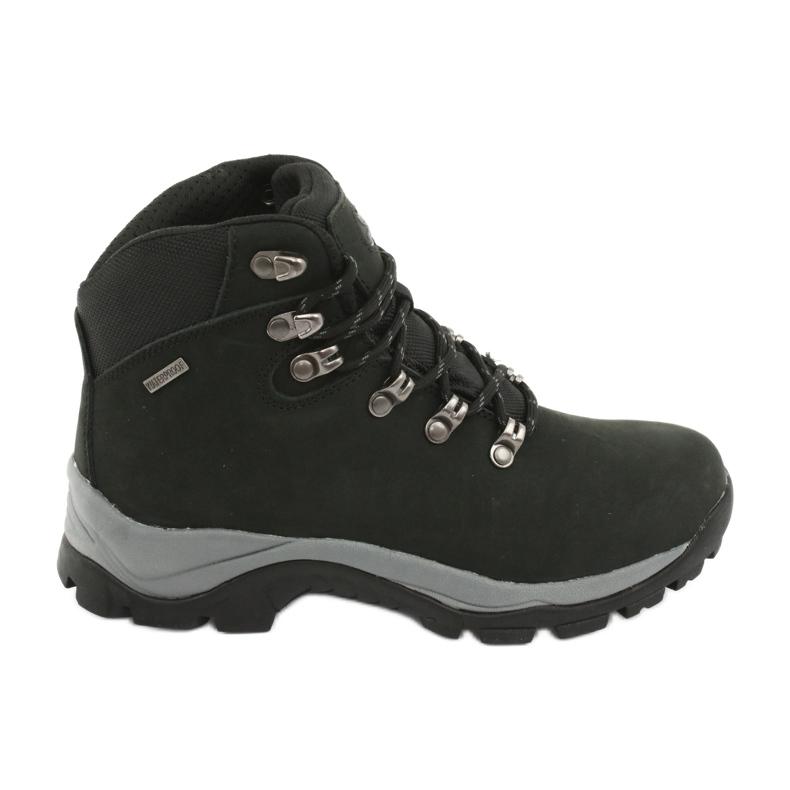 Buty Trekkingowe wiązane czarne Atletico 57089