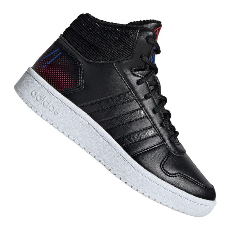 Buty adidas Hoops Mid 2.0 Jr EE8547 czarne