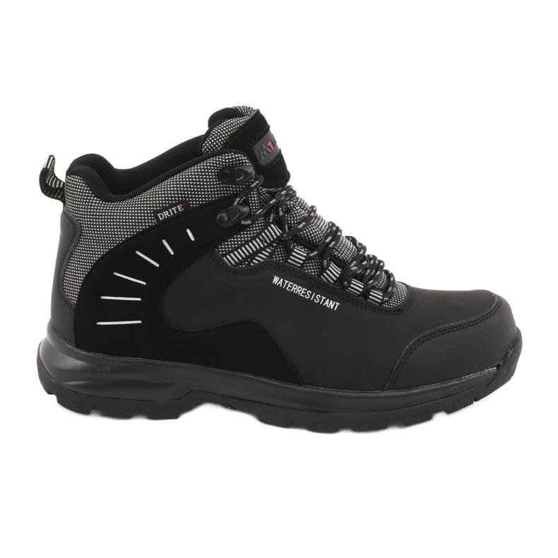 Trekkingowe wiązane czarne MtTrek 011