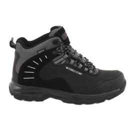 Trekkingowe wiązane czarne MtTrek 021B