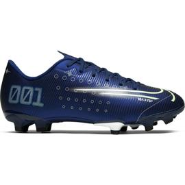 Buty piłkarskie Nike Mercurial Vapor 13 Academy Mds FG/MG M CJ1292 401 granatowe granatowy