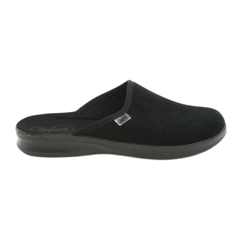 Befado obuwie męskie pu 548M020 czarne
