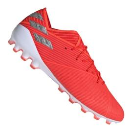 Buty piłkarskie adidas Nemeziz 19.1 Ag M EF8857 czerwony czerwone