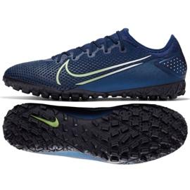 Buty piłkarskie Nike Mercurial Vapor 13 Pro Mds Tf M CJ1307-401 granatowe granatowy