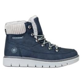 Goodin Traperki Na Platformie niebieskie
