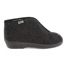 Befado obuwie damskie pu 041D052 brązowe