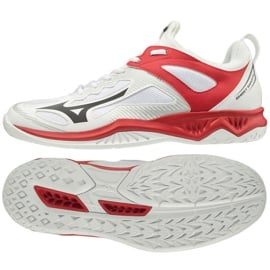 Buty halowe Mizuno Ghost Shadow M X1GA198008 biały białe