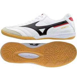 Buty halowe Mizuno Morelia In M Q1GA170009 biały białe