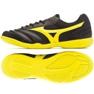 Buty halowe Mizuno Morelia Sala Club In M Q1GA190345 czarne czarny