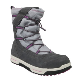Buty zimowe Timberland Snow Stomper Pull On Wp Jr A1UJ7 szare