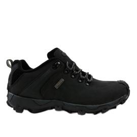 Czarne obuwie trekkingowe MXC-6645