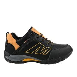 Czarne obuwie trekkingowe 103A