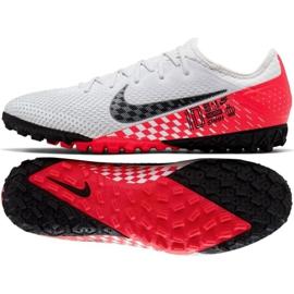 Buty piłkarskie Nike Mercurial Vapor 13 Pro Tf Neymar M AT8003-006 białe biały