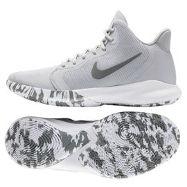 Buty Nike Precision Iii M AQ7495-004 szare białe