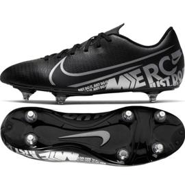 Buty piłkarskie Nike Mercurial Vapor 13 Club Sg M CJ6181-001 czarne czarny