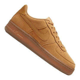 Buty Nike Air Force 1 LV8 3 Jr BQ5485-700 brązowe