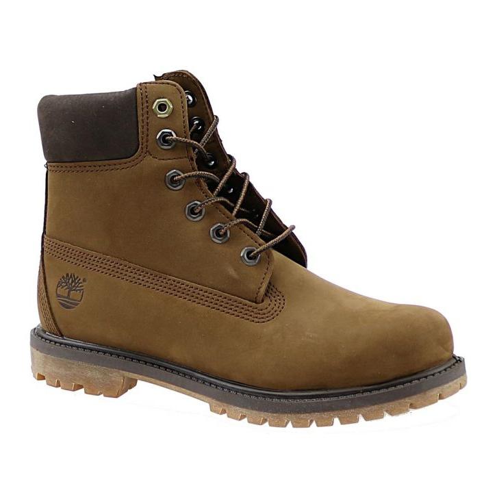 Buty Timberland 6 Premium Boot Jr A19RI brązowe khaki