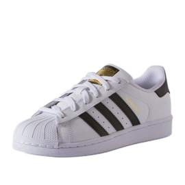Buty adidas Originals Superstar Fundation Jr C77154 białe