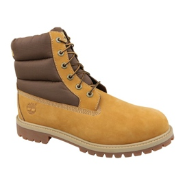 Buty zimowe Timberland 6 In Quilit Boot Jr C1790R brązowe