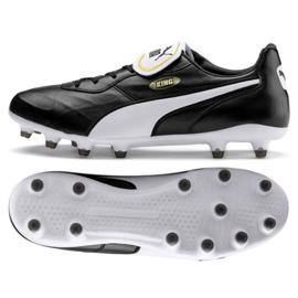 Buty piłkarskie Puma King Top Fg M 105607 01 czarne czarny