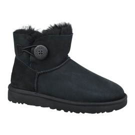 Buty Ugg Mini Bailey Button Ii W 1016422-BLK czarne