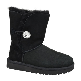 Buty Ugg Bailey Button Bling W 1016553-BLK czarne