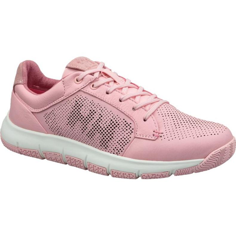 Buty Helly Hansen Skagen Pier Leather Shoe W 11471-181 różowe
