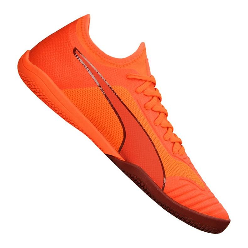 Buty halowe Puma 365 Sala 1 M 105753 02 pomarańczowe czerwony, pomarańczowy