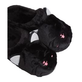 Kapcie damskie czarne MA16 Black