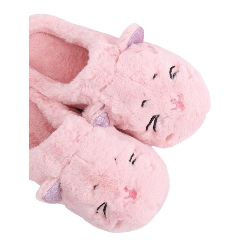 Kapcie damskie różowe MA16 Pink