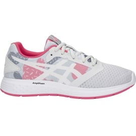 Buty do biegania Asics Patriot 10 Sp Jr 1014A039-022 szare