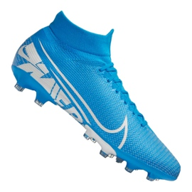 Buty Nike Superfly 7 Pro AG-Pro M AT7893-414 niebieski niebieskie