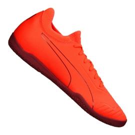 Buty halowe Puma 365 Sala 2 M 105758-02 pomarańczowe pomarańczowy