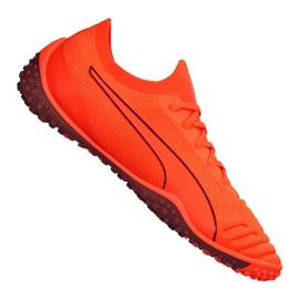 Buty piłkarskie Puma 365 Concrete 1 St M 105752-02 pomarańczowe pomarańczowy