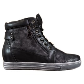 Sergio Leone Czarne Sneakersy