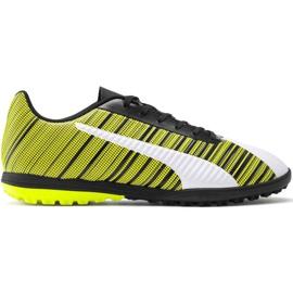 Buty piłkarskie Puma One 5.4 Tt M 105653 03 biały, czarny, żółty żółte