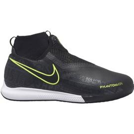 Buty piłkarskie Nike Phantom Vsn Academy Df Ic Jr AO3290 007 czarny czarne