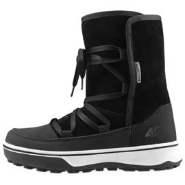 Buty zimowe 4F W D4Z19-OBDH201 21S czarne