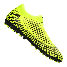 Buty piłkarskie Puma Future 4.4 Mg Jr 105697-03 żółty żółte