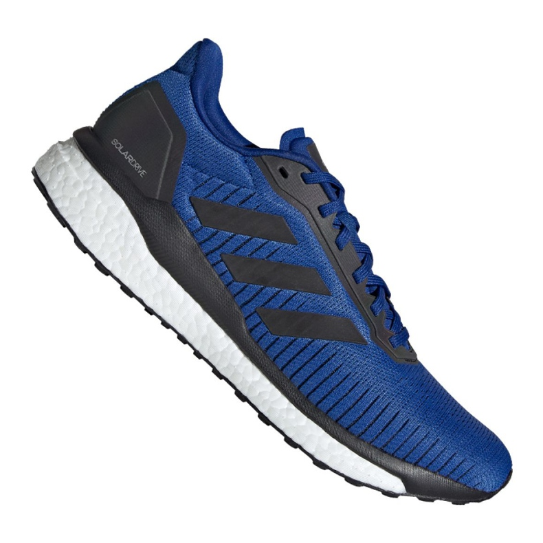 Buty biegowe adidas Solar Drive 19 M EF0787 niebieskie
